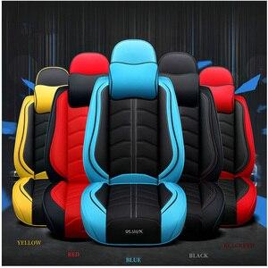 Image 5 - กีฬาใหม่ PU หนังรถที่นั่งอัตโนมัติสำหรับ Lexus ES300 ES350 ES330 ES250 ES300h IS350 IS200 IS250 IS300h รถอุปกรณ์เสริม