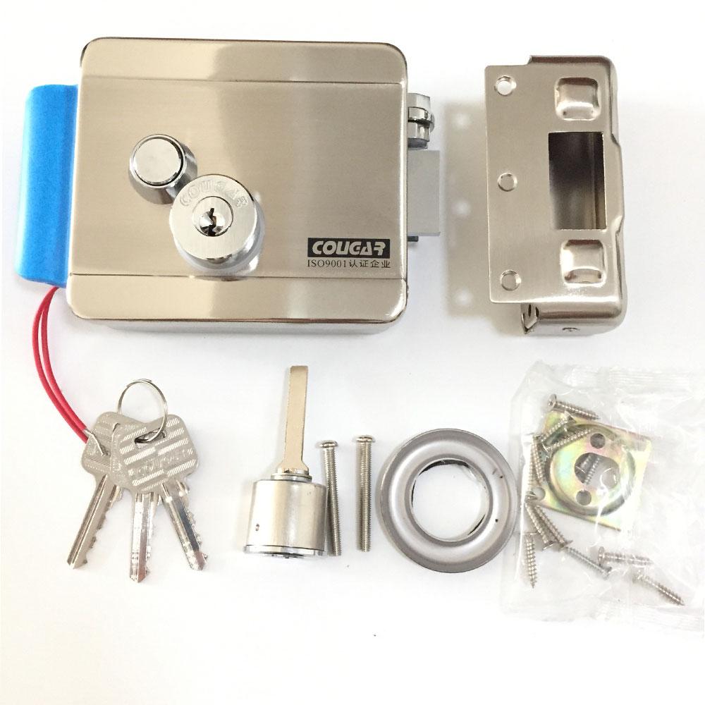 wireless poe wifi ip doorbell hd 3g camera outdoor rfid access unlock video door phone lock doorbell systemin video intercom from - Wifi Deadbolt