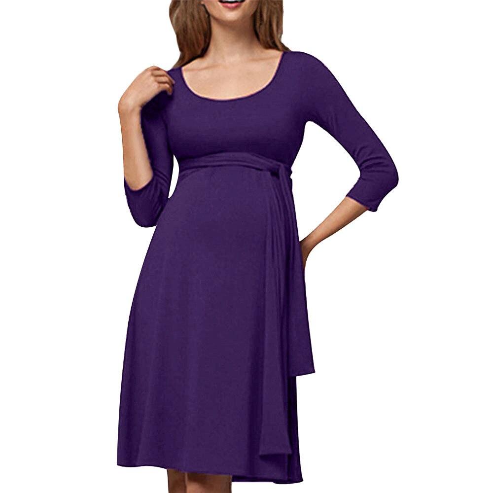 a4903017175 Nursing Dress Top Breastfeeding Long Sleeve Women Winter for Feeding  Maternity Pregnancy Clothes Plus Size 18Oct10