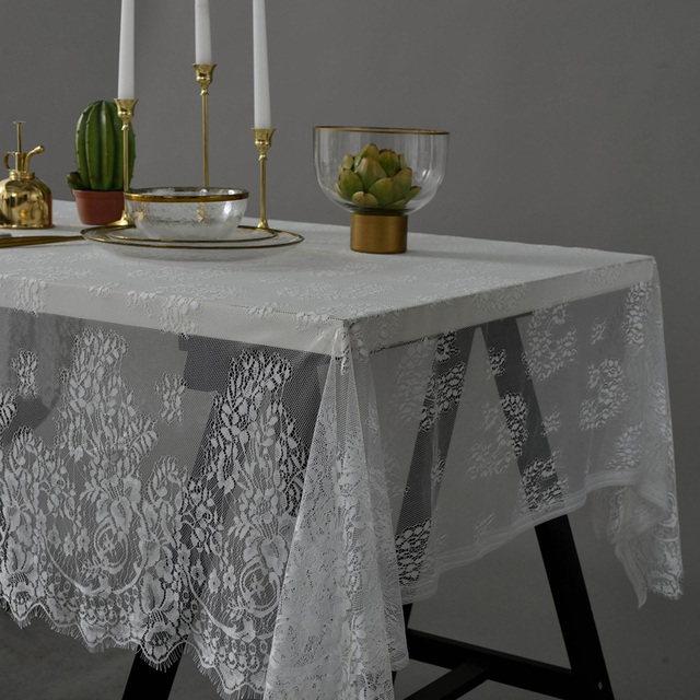Lace Flower Table Cloth