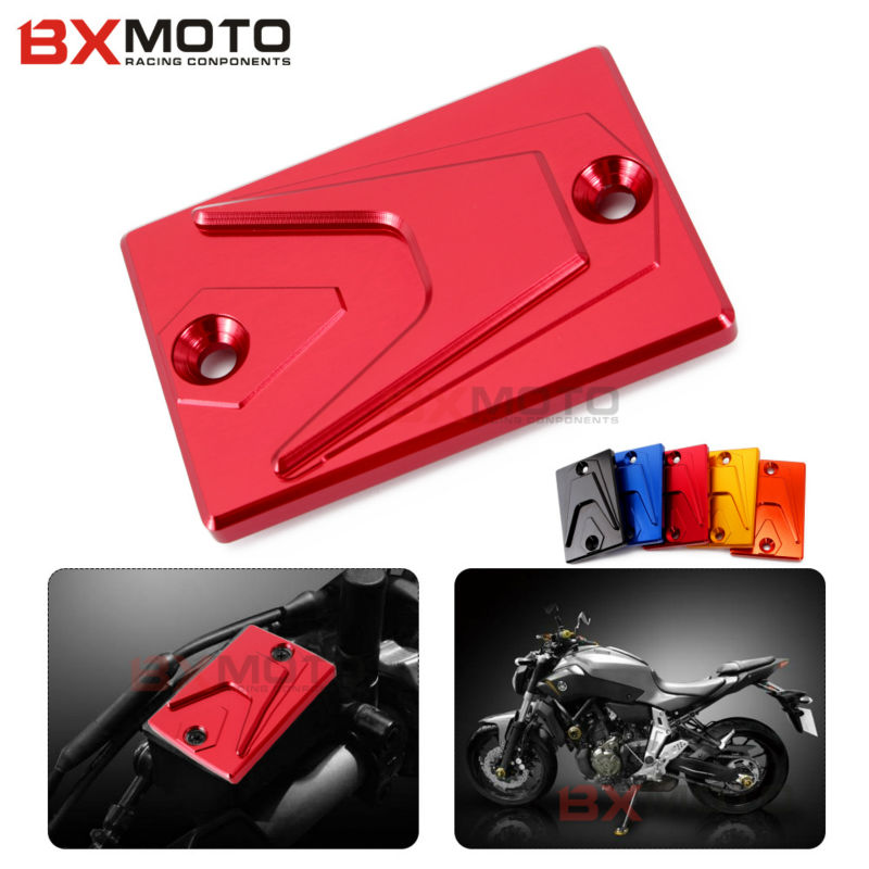 Front Brake Fluid Reservoir Cover Cap For Yamaha MT-07 FZ-07 FJR1300 FZ1 FZ1N