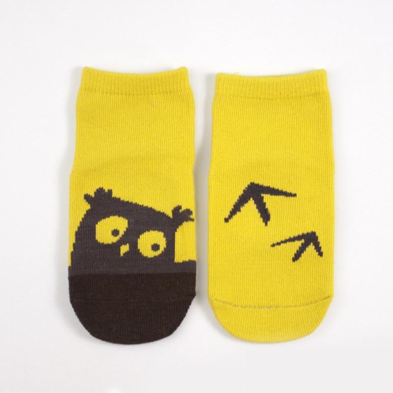 Dicken Warmen Gemütlichen 1 Para Geeignet Für 0-3year Baby Rutschfeste Socken Baby Neugeboren Niedliche Eule Muster Socken Winter 100% Baumwolle Die Neueste Mode Mädchen Kleidung