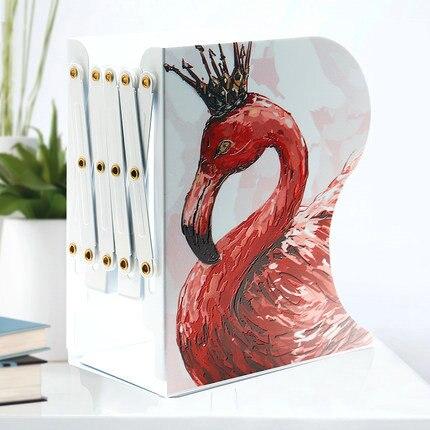 Mode mignon Extra grand livre Stand réglable bureau livre organisateur livres titulaire pour livres