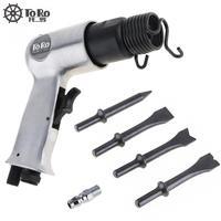 Sale TORO 9150 120mm Professional Handheld Pistol Gas Shovels Air Hammer Small Rust Remover Pneumatic Tools
