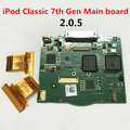 Free shipping  100% Guarantee Original 7th gen iPod Classic 160GB Logic Board Motherboard 820-2437-A Thin Version 2.0.5 firmware