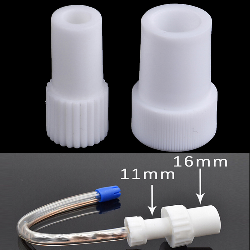 New 2pcs Dentist Tool Disposable Surgical Dental Suction Tube Convertor Saliva Swivels Ejector Suction Adaptor Tips Autoclavable