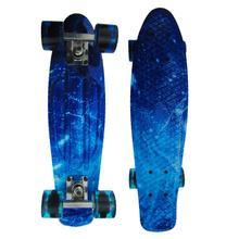New Hip-hop Skateboard Retro Child Penny Skate Board Starry Sky Pattern Mini Board for Outdoor Sport Street Boys
