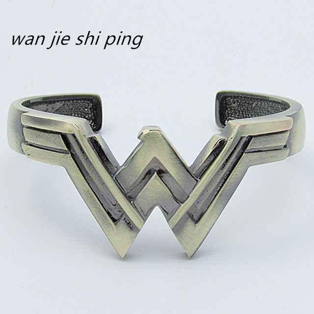 2017 New High Quality Wonder Woman Bracelet Gifts For Women