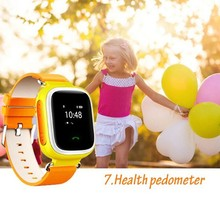 Kid SOS Smart Watch Wristwatch GPS Call Location Finder Locator Device Tracker for Kid Safe Anti