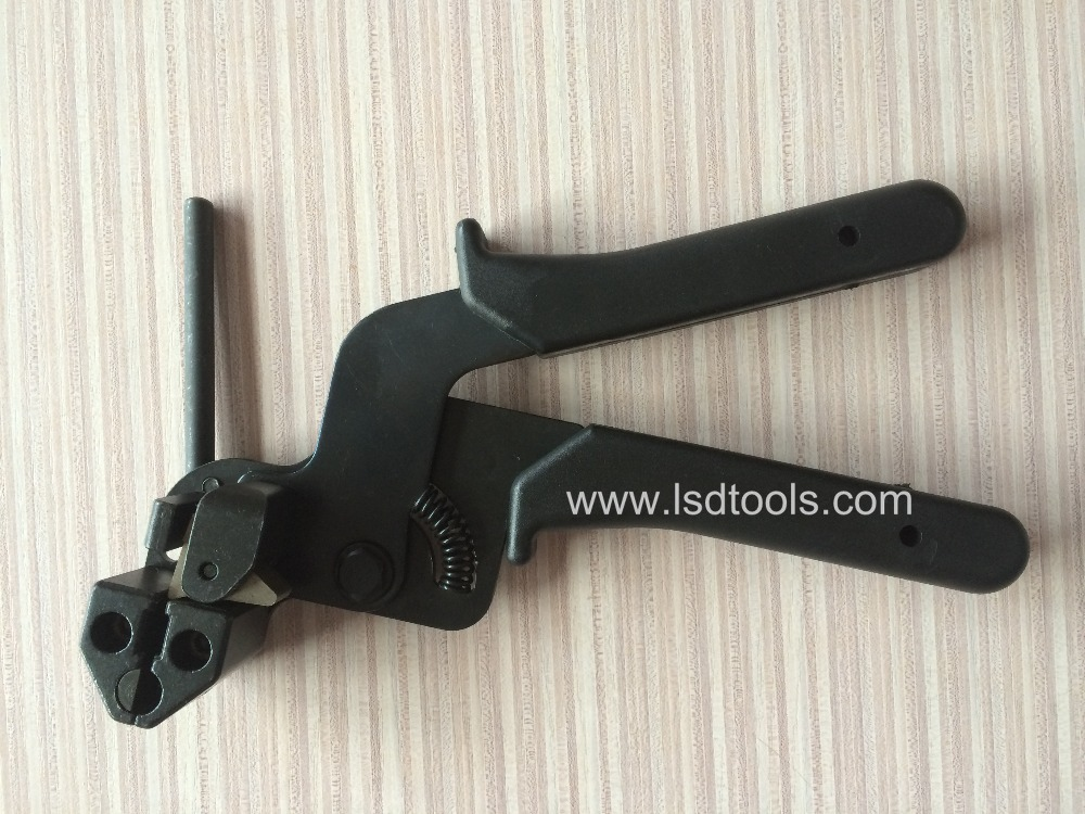 ФОТО LSD High Quality Stainless Steel  Cable Tie gun fasten tensioning tool LS-600R