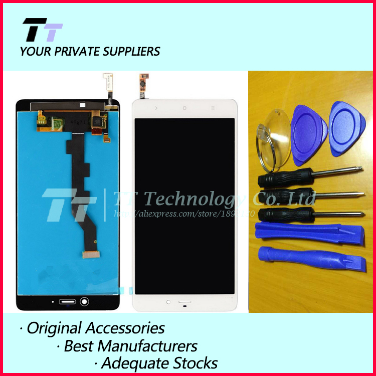 For XIAOMI Mi Note Pro LCD display + touch screen digitizer Assembly 100% Tested for xiaomi mi note Pro Free shipping+free tools