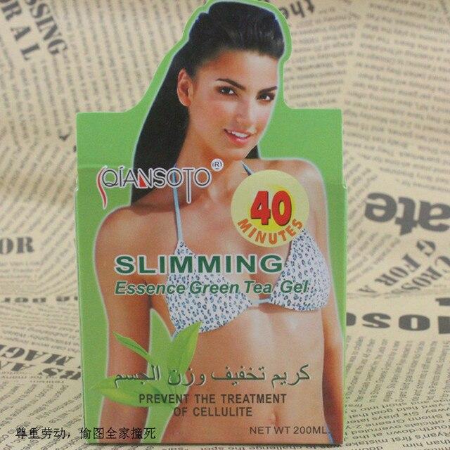 Крем для похудения Кремы Экстракт Зеленого Чая Для Похудения Продукта, чтобы Создать Идеальное Тело Потеря Веса Здравоохранения S185