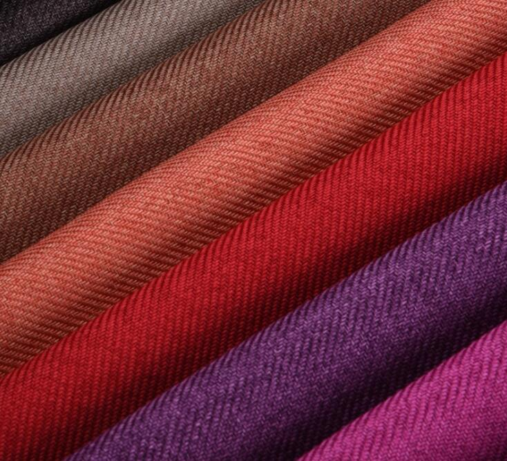 Mylb 145x100cm Faux Linen Fabric Sale Patchwork Tricot Thick Furnishing Fabrics Green Blue Cover Sofa High Quality Tissu