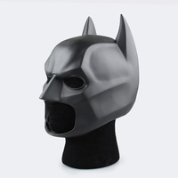 2017 New PVC Batman Helmet 1 1 Wearable BATMAN Battle Superman COSPLAY Master Wayne Mask Halloween