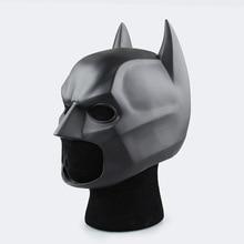 Новинка 2017 года ПВХ Бэтмен Шлем 1:1 носимых Бэтмен битва Супермен Косплей мастер Уэйн маска Хэллоуин Косплэй реквизит