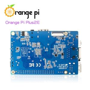 Image 2 - Orange Pi Plus 2e 2 Гб Ram H3 четырехъядерный, одноцветная мини плата с открытым исходным кодом, Поддержка Android,Ubuntu,Debian