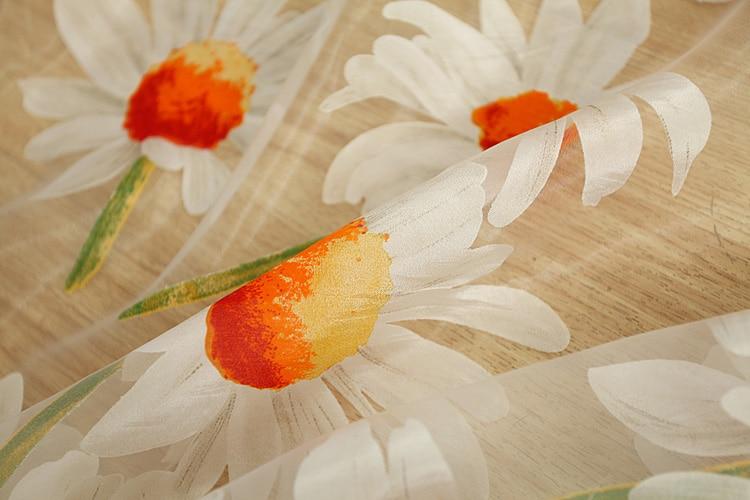 otthon Textil SPRING Virág Kínai luxus 3D Ablakfüggöny szövet - Lakástextil