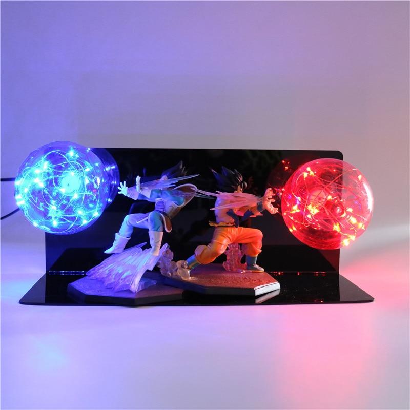 Dragon Ball Z Kids Toy Gift Action Figures DIY Anime Model Creative Bedroom Lamp Baby Dolls