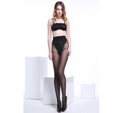 (6 par/paczka) damska 40 Denier rdzeń przędza jedwabna ultra cienkie rajstopy Sexy i moda Bikini motylkowe wisiorki rajstopy