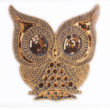 High-quality large-size cartoon embroidery butterfly woodpecker cloth patch paste jeans clothing accessories tape