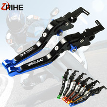 Motorcycle CNC Accessories Adjustable Lever Folding Brake Clutch Levers For YAMAHA DT125 RL DT 125 125RL 1989-1999 1998 1997