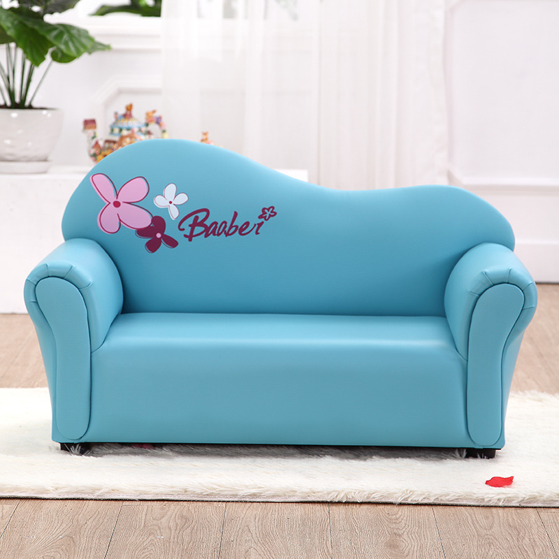 Hot Children Baby Seat Sofa High Quality Cartoon Pu Chairs Living Room Sofas Couch For Double Furniture Children Furniture