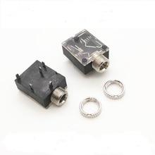100 pièces 3.5mm 3.5mm connecteur Audio stéréo femelle 5 broches DIP prise casque prise PJ 324 PJ324