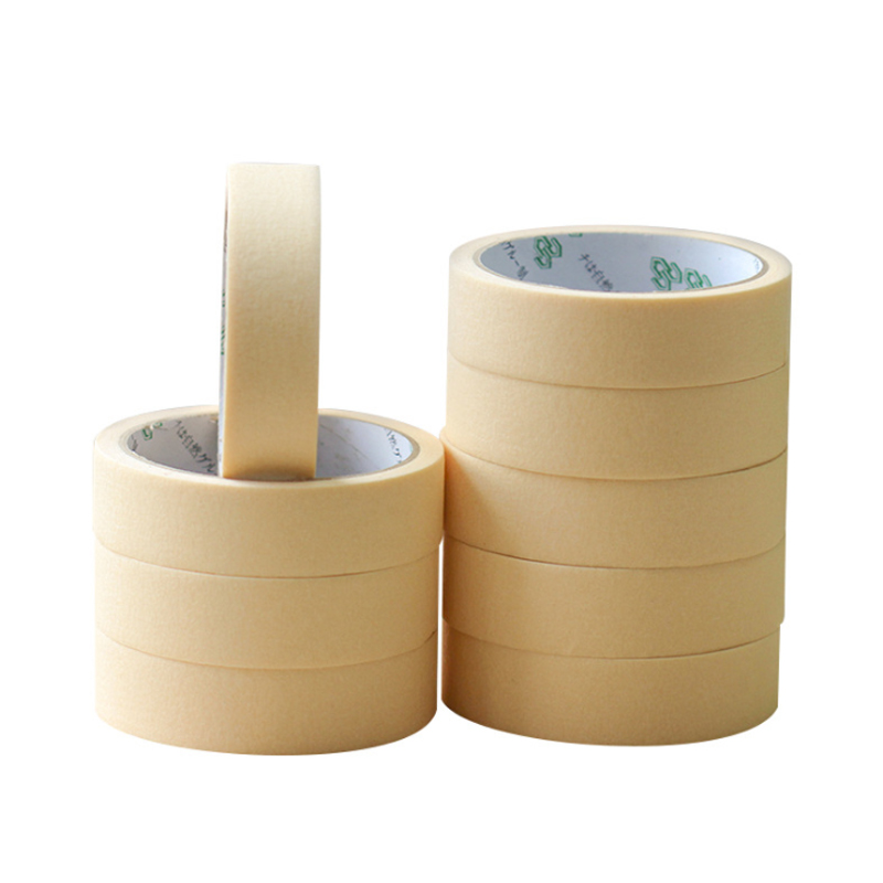 20m/roll Masking Tape 10mm 15/20/30mm Single Side Tape Adhesive Crepe Paper For Oil Painting Painter Decor