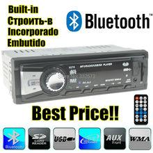 2015 new Car Radio Player Support Bluetooth,Phone Answer,MP3/FM/USB/1 Din/remote control 12V Car Audio Auto Stereo, In-Dash aux