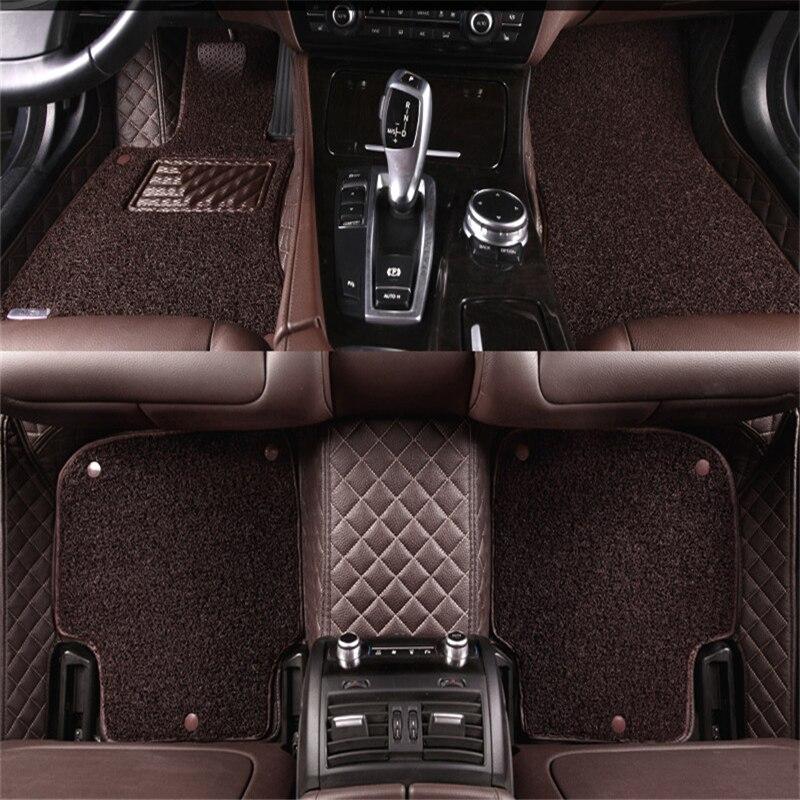 2016 Lexus Ct Interior: Leather Wire Car Floor Mats For Lexus CT200h ISC ES300h