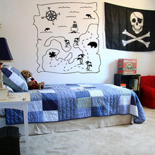 Wall Sticker Decal Neverland Map Peter Pan Cartoon Ship Pirate Never Grow Up Kids Children Boys Nursery Bedroom 3005