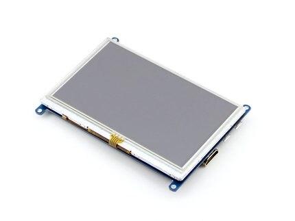 Brand New 5 Inch HDMI LCD Display Screen Displayer Application Raspberry Pi 3 Generation BB BLACK