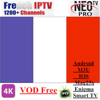 Promotions Neotv PRO 1200 Channels French IPTV Europe Arabic Belgium IPTV Subscription Code LiveTV M3U MAG254