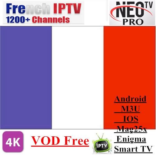 Promozioni Neotv PRO 1200 Canali Francese IPTV Europa Arabo Belgio abbonamento IPTV codice LiveTV M3U MAG254 Android Smart TV