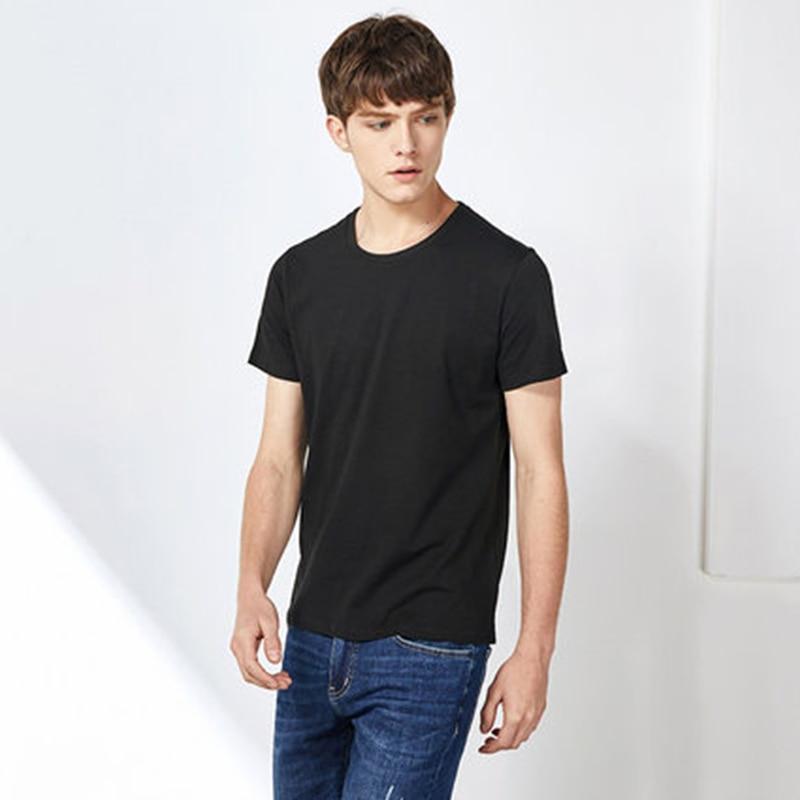 SEMIR Men T Shirt Fashion 2020 Cotton Mens Tshirts White Tee Shirt Casual Summer Tshirts Men Camiseta Masculina Clothes Top