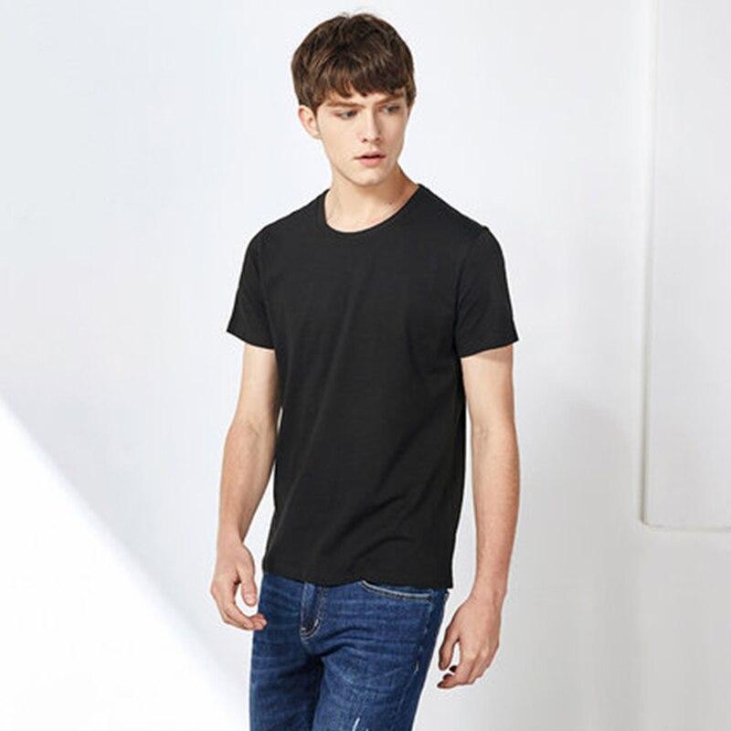 SEMIR mężczyzna T koszula moda 2018 bawełna męskie koszulki biały Tee shirt na co dzień letnie koszulki mężczyzn Camiseta Masculina ubrania Top - aliexpress