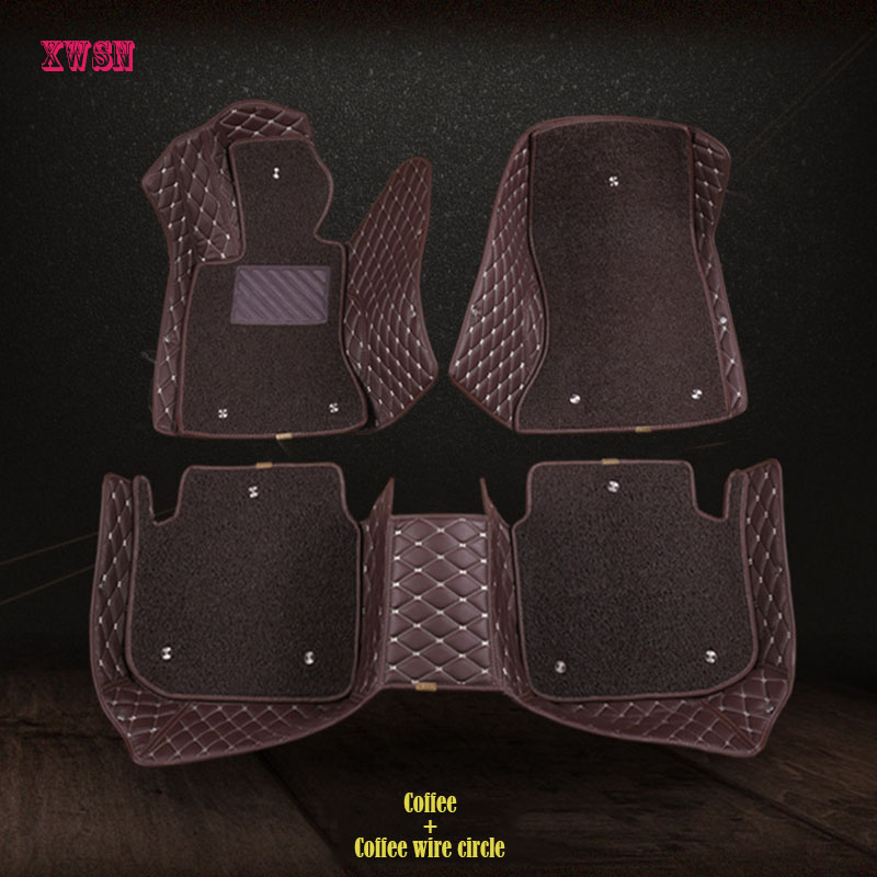 custom car floor mats for Lincoln all models Navigator MKC MKX MKT MKZ MKS car accessories floor mats for cars