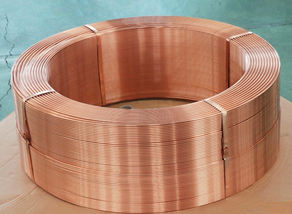 T2 Copper Coil 8*1.5 Outer Diameter 8 Mm Wall Thickness 1.5 Mm Inner Diameter 5 MmT2 Copper Coil 8*1.5 Outer Diameter 8 Mm Wall Thickness 1.5 Mm Inner Diameter 5 Mm