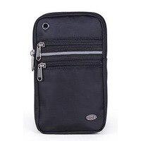 Yüksek Kalite Kadın Erkek Para Bel çantası Oxford Küçük Omuz Çantası Armband Kemer Kılıfı 6.3/7 Inç Cep cep Telefonu Kılıfı Paketi Çanta