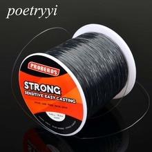 POETRYYI Brand 500M  nylon Fishing Line Strands 0.28/28LB 0.4/40LB 0.45/50LB 0.35/30LB Multifilament 30