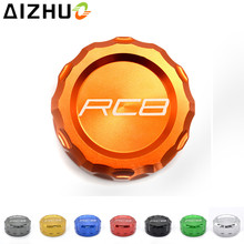 For KTM RC8 RC8R Motorcycle Cylinder Fluid Reservoir Cover accessories CNC Aluminum alloy with  8 Color Available