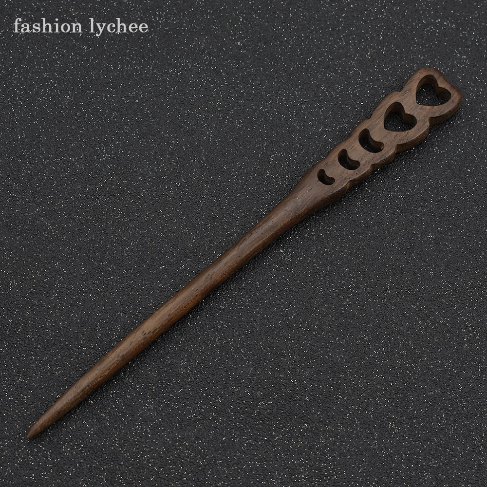 Traditional Wooden Hairpins 3