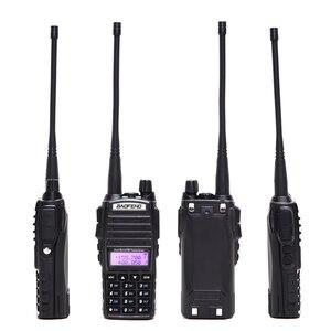 Image 3 - 2PCS BaoFeng UV 82 5w Walkie Talkie Dual Band VHF/UHF Two Way Radio Double PTT Portable Radio Amateur Radio BAOFENG UV82+Headset