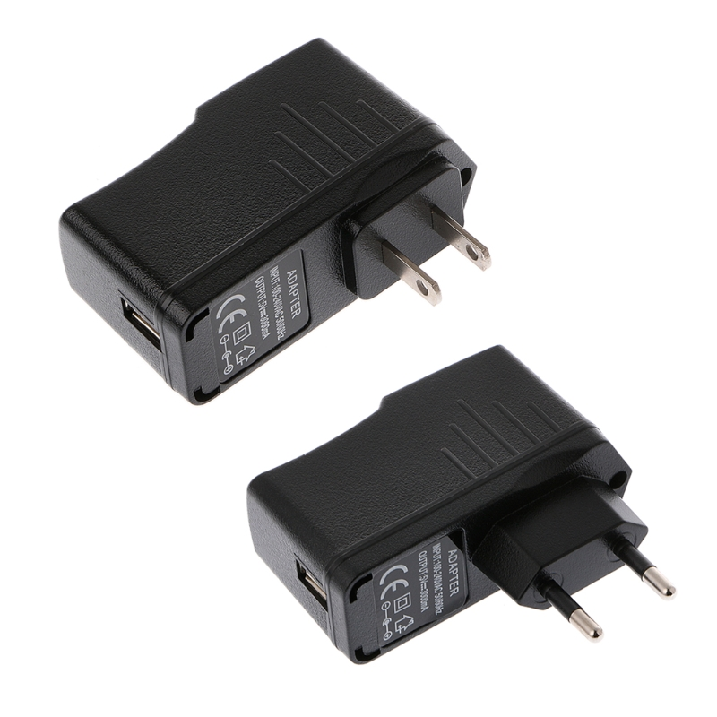 AC 100-240V DC 5V 3000mA USB Power Adapter Wall Charger Power Supply EU/US Plug