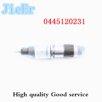 injector 0445120231 common rail injector assembly 0445120231 For Common Rail Nozzle DSLA128P5510