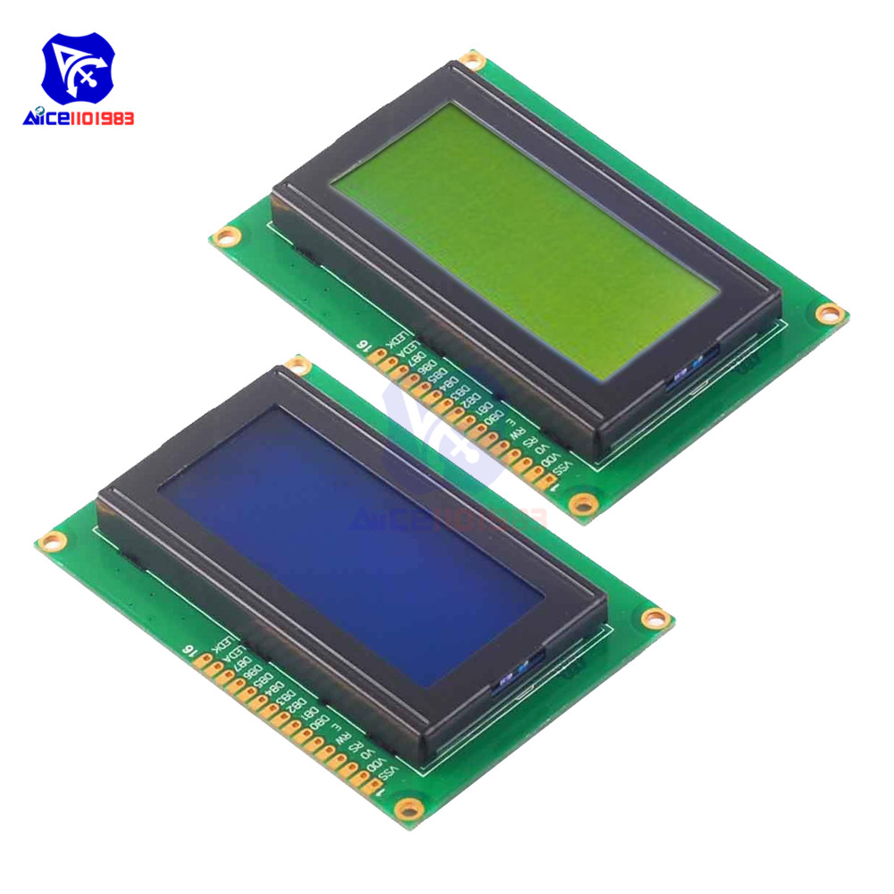 1604LCD Module 16X4 Character LCD Display Module LCM Blue/Yellow Blacklight For Arduino 5V