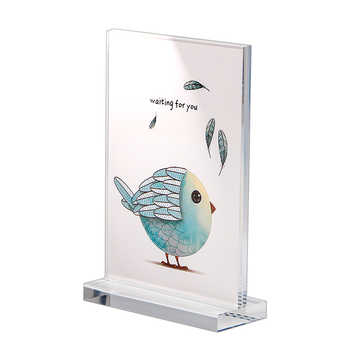 10 Piece 100x200mm Photo Frame Acrylic Magnetic Table Display Stand Sign Menu Display Holder Acrylic Frame Photo Stand Rack - DISCOUNT ITEM  6% OFF All Category