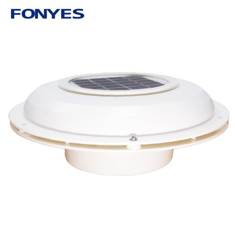 Solar Power Ventilation Fan Attic Ventilator For Home RV Boat Caravans Turck Solar Air Vent Extractor Exhaust Fan