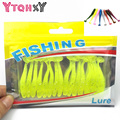 16Pcs/Lot 5cm/1g Lures Soft Bait Worms fishing lure with salt smell Hot Fishing Takcle Grub Artificial Lures YE-169