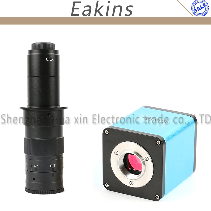 Autofokus 1080 P 60FPS SONY IMX290 HDMI TF Video Autofokus industrie Video Mikroskop Kamera 180X C-mount-objektiv Für PCB SMT reparatur